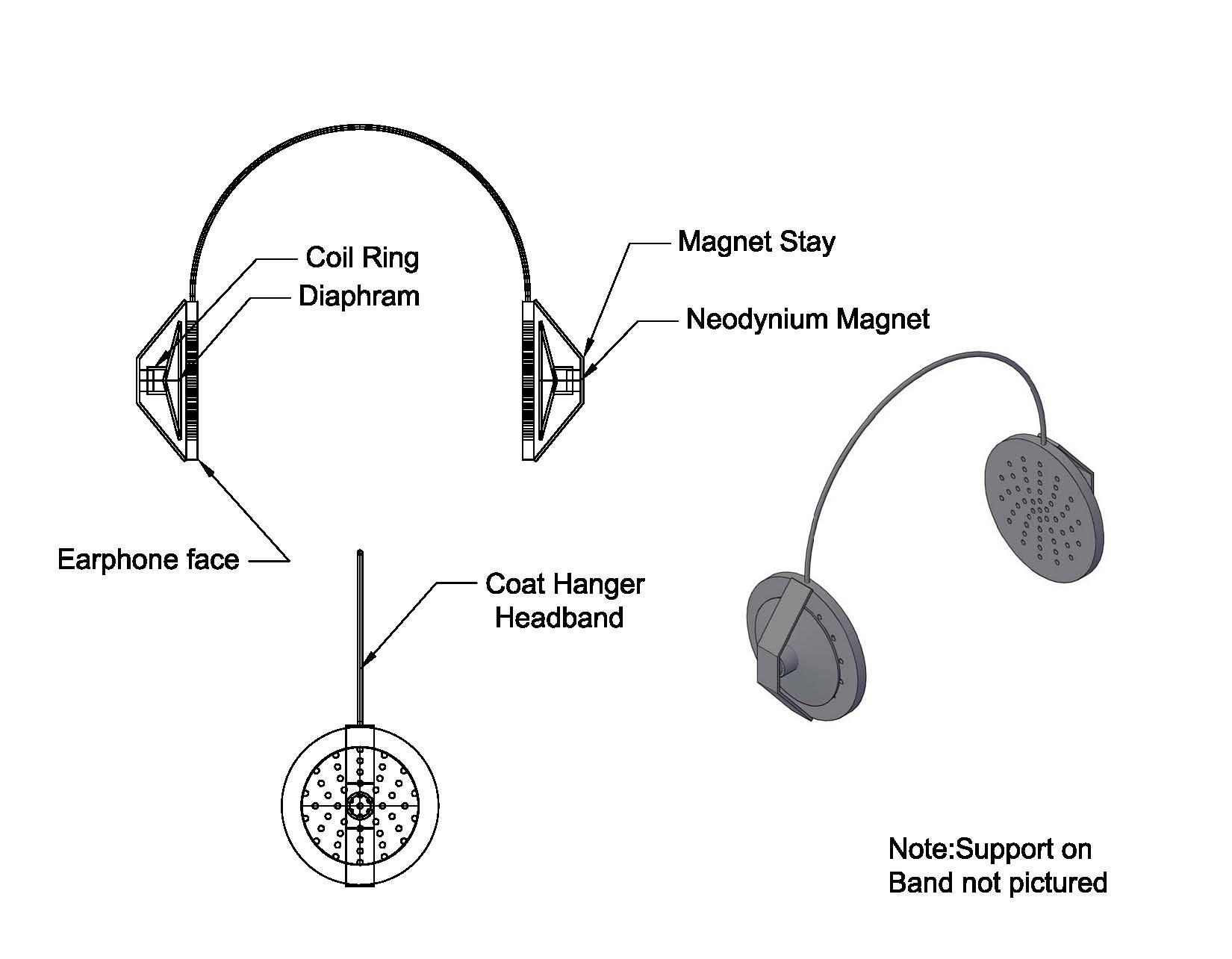 Diy Stereo Headphones Page