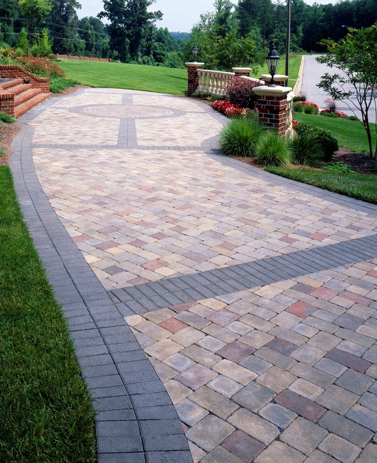 Paver Patterns + The TOP 5 Patio Pavers Design Ideas ... on Yard Paver Ideas  id=31309