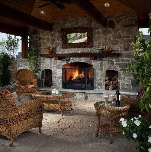 outdoor patio living room 10 Easy Backyard Improvements for Outdoor Entertaining
