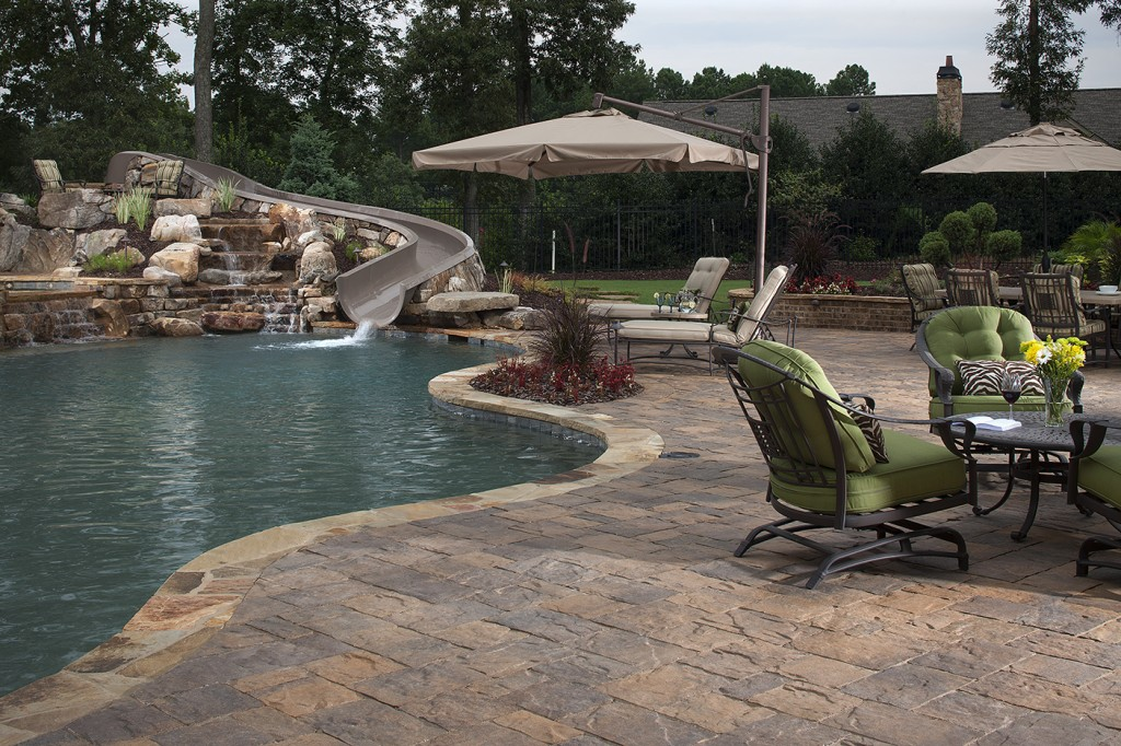 How to Landscape Around an Inground Pool | INSTALL-IT-DIRECT on Pool Deck Patio Ideas id=51008