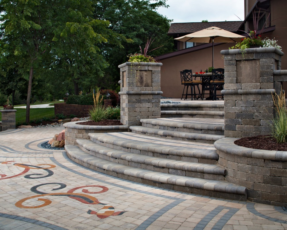 Paver Colors: Choose The Best Paver Color For Your Home ... on Outdoor Pavers Patio id=49743