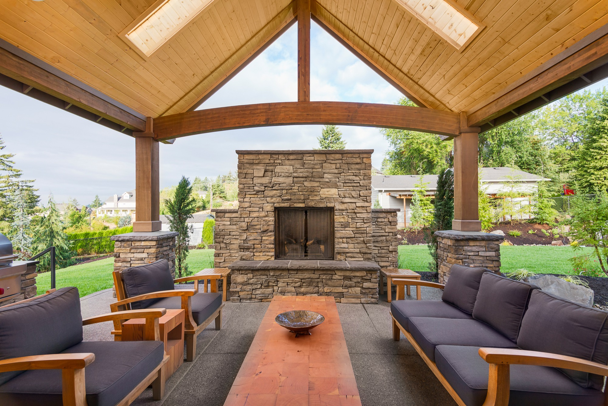 Outdoor Fireplace Safety Guide | Install-It-Direct on Outdoor Fireplaces Ideas  id=33208