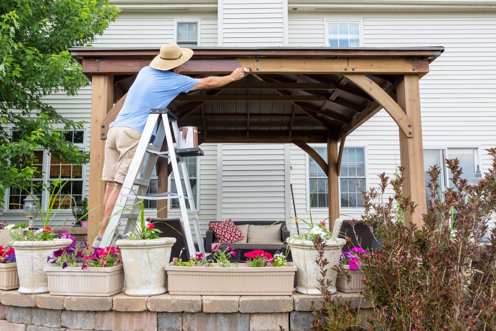 25 Patio Shade Ideas for Your Backyard | INSTALL-IT-DIRECT on Shady Yard Ideas id=78041