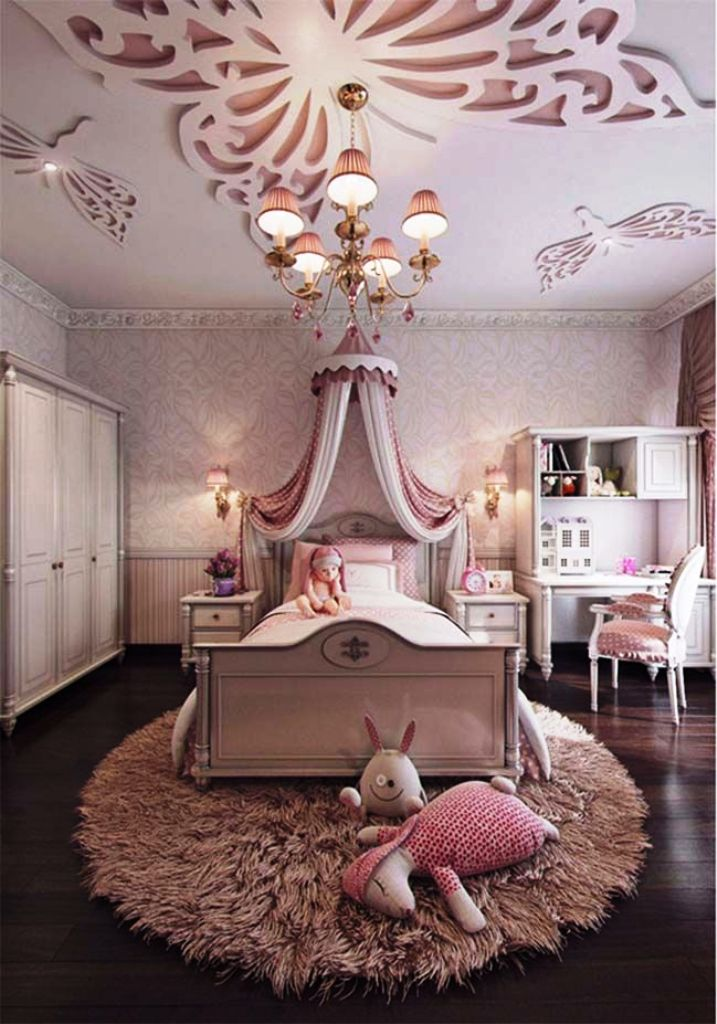 25 Beautiful Girls Bedroom Ideas For Your Little Angel ... on Cheap:l2Opoiauzas= Bedroom Ideas  id=79685