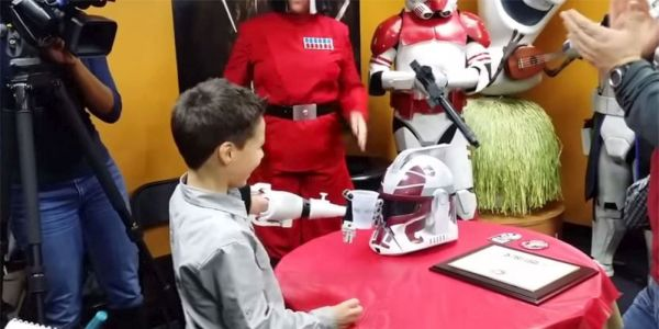 Star Wars-styled Prosthetic Arm