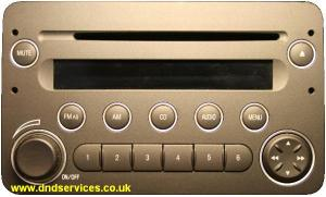 Alfa Romeo 159 radios decoded