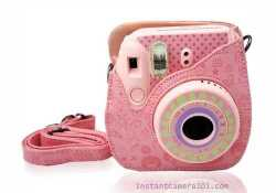 Pink Case for FujiFilm Instax Mini 8 Case
