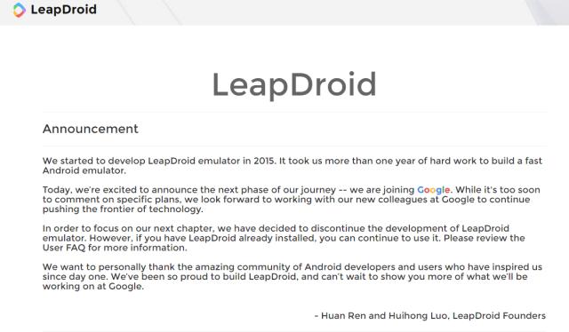 leapdroid-joining-google