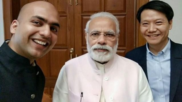 xiaomi-leijun-meeting-india-modi