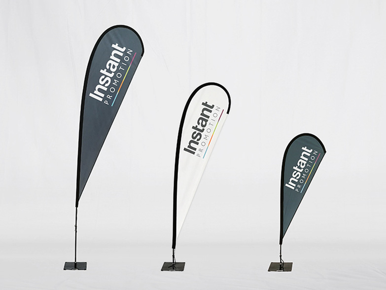 Teardrop flag photoshop action mockup. Feather Teardrop And Hanging Flags Custom Printed Advertising Flags