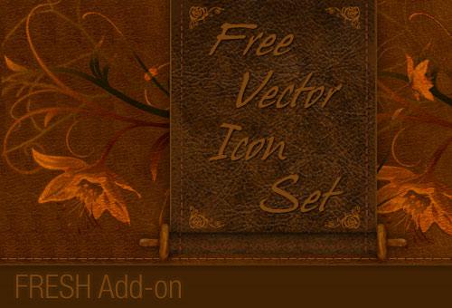 A Free Icon Set – FRESH Add-on