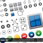 Free Vector Icons Pack, 85 Icons Set