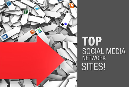 List Of Top Social Media Network Sites