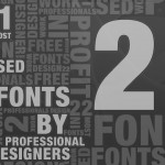 21 Most Used Fonts By Professional Designers
