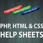 All New PHP, CSS & HTML Help Sheets