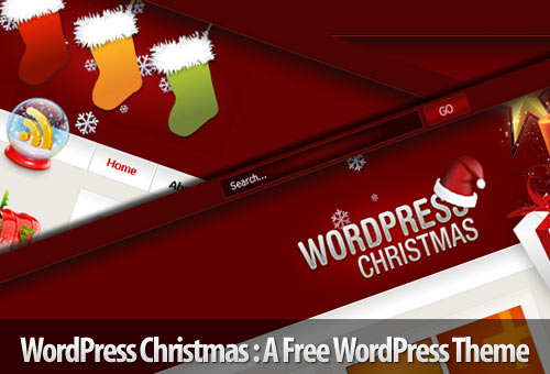 WordPress Christmas – A Free WordPress Theme