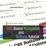 30 Excellent CSS Based Navigation and Buttons Tutorial