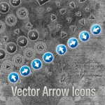 64 Vector Arrow Icons Set for Developers