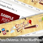 WordPress Christmas V1.1 – A free wordpress theme