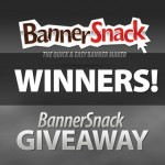 BannerSnack Giveaway Contest – Winners!