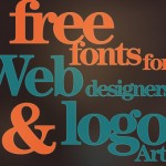 104 Free Fonts for Web Designers and Logo Artists