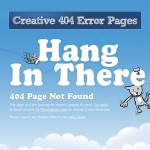 Creative 404 Error Pages Around for Inspiration
