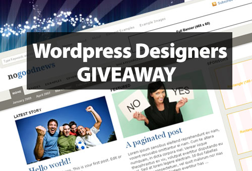 Comment and Win a Premium News Theme from WordPress-Designers