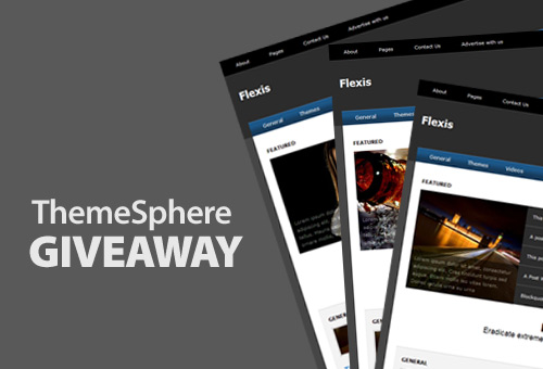 Flexis Theme from ThemeSphere Giveaway, Comment And Win!