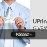 Giveaway! Win 2000 Business Cards and Much More from UPrinting – Winners!