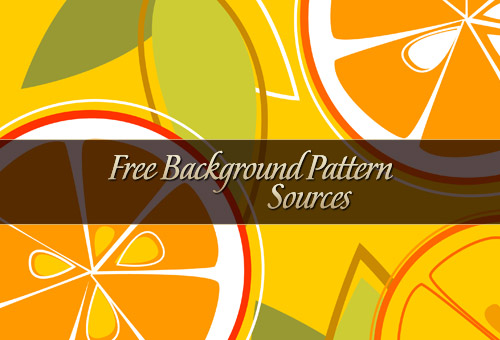 The Ultimate List of Sources for Free Background Patterns