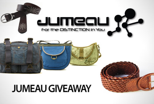 Jumeau Bags Giveaway: Tweet and Win!
