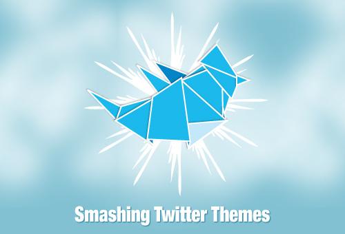 90+ Smashing Twitter Themes