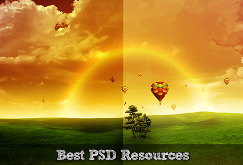 110 Ultimate Round-Up of Free Photoshop PSD Files and Resources