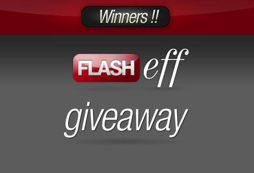 FlashEff Giveaway: Win 5 Premium Unlimited License – Winners!