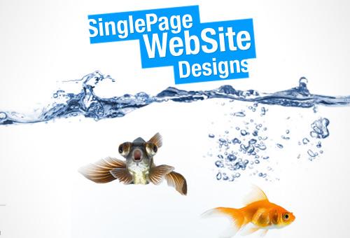 88 Single Page Website Designs For Design Inspiration