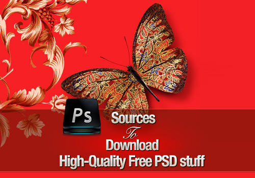 40 Sources To Download High-Quality Free Photoshop PSD Stuff