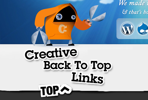 90 Creative Back To Top Links and Best Practices