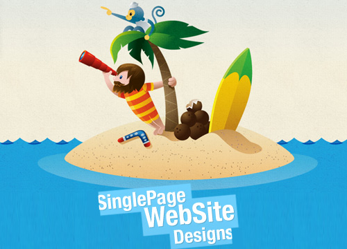 70 Inspirational Single Page Website Designs
