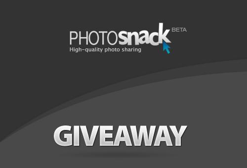 PhotoSnack Premium Licenses Giveaway