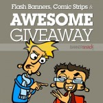 Giveaway: Flash Banners, Comic Strips and an Awesome Giveaway