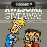Flash Banners, Comic Strips and an Awesome Giveaway- Winners!