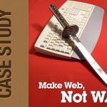 Case-Study: Make Web, Not War
