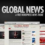 Global News: A Free WordPress News Theme – Updated!