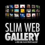 Slim Web Gallery- A Free Flash XML Photo Gallery