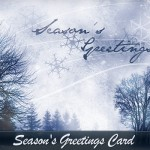 Create a Season's Greetings Card from Scratch to Print