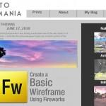 Creating a Basic Wireframe Using Adobe Fireworks