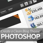 Create a Clean Blog Theme in Photoshop