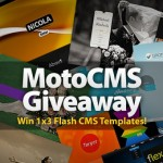 Giveaway: Win 1×3 Flash Templates Powered By MotoCMS