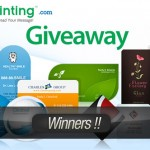 Announcement: Winners of UPrinting Giveaway