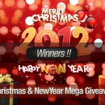 Announcement: Winners of Christmas & New Year Special Giveaway